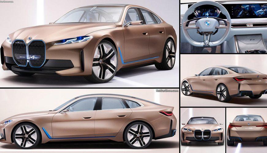 بی ام دبلیو i4، طرح مفهومی خودرو