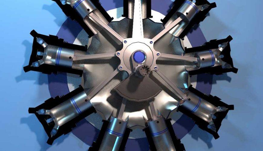 موتور ستاره ای